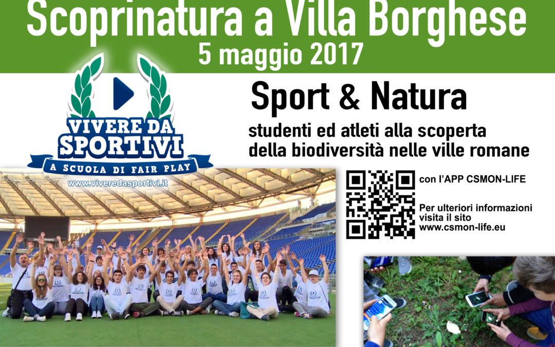 """Scoprinatura """"Sport & Ambiente"""" – Studenti ed Atleti alla scoperta della biodiversità"""