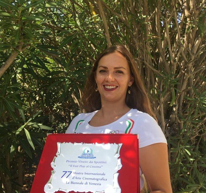 Il video della nostra testimonial Francesca Bettrone a Venezia 2020!