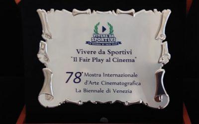 COMUNICATO STAMPA: Venezia 78 – premio al cinema fair play